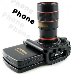 Fine Workmanship Telescope for Cellphone with High Visibility